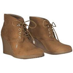 Women's Merona® Kadence Wedge Ankle Boot - C... : Target Mobile