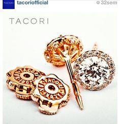 Tacori Rose Gold Earrings