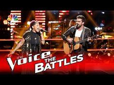 "The Voice 2016 Battle - Bindi Liebowitz vs. Brendan Fletcher: ""Home"" - YouTube"