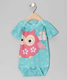 This bodysuit showcases a unique and playful screen print that lets a little one's name become part of the design! Digital printing creates a one-of-a-kind graphic that's soft and safe against skin, resulting in a special piece that's also comfy to wear.Personalize up to 12 characters100% polyesterMachine wash; tumble d...