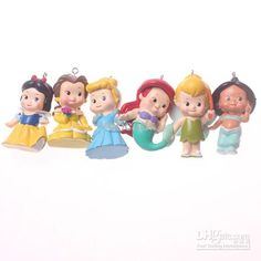 Wholesale Charms - Buy Lovely Assorted Resin Princess Charm Pendant for Jewelry Making $3.13 | DHgate