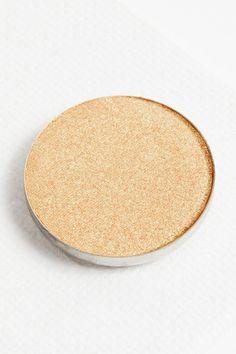 Play by Play duochrome peach with green gold flip Pressed Powder eye shadow