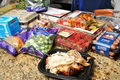 Clean eating meal plan  - shopping at costco