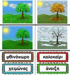 Learning Activities, Activities For Kids, Seasons, School, Pictures, Photos, Children Activities, Seasons Of The Year, Kid Activities