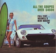 The Bolwell Nagari is a car that few people outside Australia have heard of, much less seen or driven. Bolwell were, and still are, Australia's sports GT Bus Engine, Australian Cars, Classic Sports Cars, The Essential, All Cars, Cars And Motorcycles, Automobile, Dreaming Of You, Truck