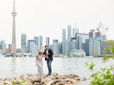 Centre Island | Toronto Engagement Photography | A beautiful sunset engagement…
