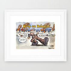 Keep on Relaxing John Key Framed Art Print by slanecartoons John Key, Key Frame, Keep On, Political Cartoons, Framed Art Prints, Relax, Baseball Cards, Shop, Keep Calm