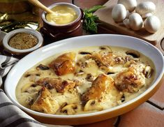 Blanquette de poisson (ultra rapide) – Toutes recettes Gumbo, Cheeseburger Chowder, Macaroni And Cheese, Soup, Chicken, Meat, Ethnic Recipes, Rabbit, Cooking Recipes