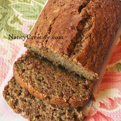 Zucchini Spice Bread | NancyCreative