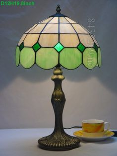 Grid Tiffany Lamp 12S9-1GT311