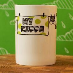 This coffee mug rocks!