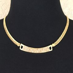 "Champagne Pave Necklace Oh so pretty champagne pave chain necklace. Nickel and lead free. Adjustable from 17"" to 20"". Boutique Jewelry Necklaces"