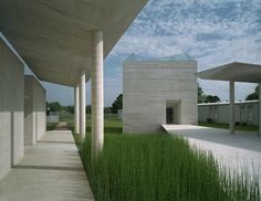 New Minimalist and Modern Holy Rosary Church and cloister in Louisiana by Trahan Architects