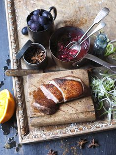 Five Spice Duck with Damson Relish recipe @ http://appledrane.blogspot.com/2011/09/five-spice-duck-with-damson-relish.html