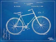 Vintage Bicycle Patent Artwork 1894 Digital Art by Nikki Marie Smith - Vintage Bicycle Patent Artwork 1894 Fine Art Prints and Posters for S. Vintage Bike Decor, Vintage Wall Art, Vintage Bicycles, Wall Art Prints, Fine Art Prints, Poster Prints, Posters, Star Wars Prints, Chalkboard Print