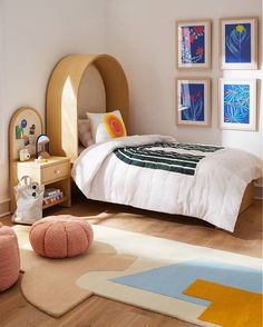 Create a totally cool kids' room with colorful kids decor' & furniture from the Domino Mag x Crate & Kids collection, inspired by the pages of Domino magazine. Kids Furniture, Furniture Decor, Kids Decor, Home Decor, Cool Kids, Crates, Kids Room, Magazine, Colorful