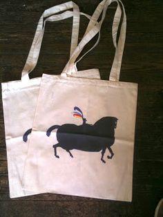 Tote bag: Nishant Choksi (they draw horses don't they?)