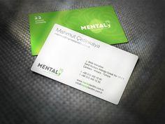 Mental Creative Business Card