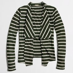 Always Cardigan In Stripe : Women's Knits | J.Crew Factory