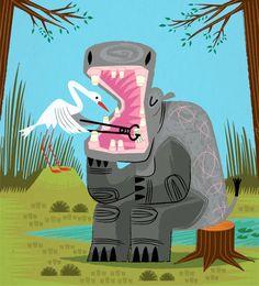 Art and illustration by Oliver Lake by iotaillustration Art And Illustration, Book Illustrations, Art Disney, Dental Art, Dental Humor, Canvas Paper, Limited Edition Prints, Dentistry, Artsy