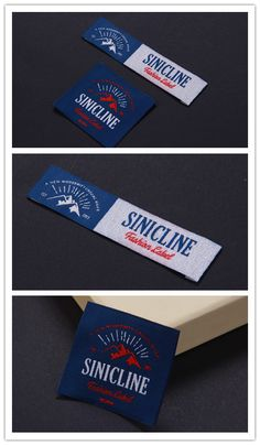 Sinicline 2016 latest woven label designs.   #wovenlabels #fabriclabel #labeldesign