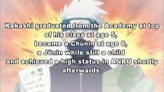 Naruto facts. Anime Facts