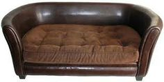 Leather Dog Sofa