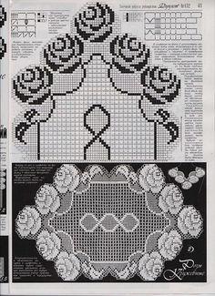 Läufer Rosenblüten