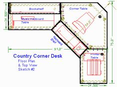 Corner computer desk plans Our list features of hundreds of quality plans including Shaker furniture Workbenches Armoire to right And finding the Industrial Interior Design, Vintage Industrial Decor, Industrial Farmhouse, Vintage Decor, Home Office Furniture, Furniture Plans, Built In Computer Desk, Computer Desks, Modern Office Desk
