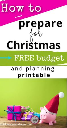 Now is the time to really start preparing financially for Christmas by planning your holiday budget and organizing your gift-giving.  Use our free printable. #Holidays #Budgeting #Printable Christmas Planning, Christmas On A Budget, Country Christmas, Budget Organization, Organizing Life, Family Schedule, Household Expenses, Budget Holidays, Living On A Budget
