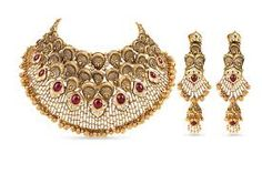 Unique Handmade Beaded Jewelry *** A special product just for you to view. See i… – Jewelry – Trend Gold Bridal Jewellery Sets, Gold Jewellery Design, Wedding Jewelry Sets, Gold Jewelry, Statement Jewelry, Gold Necklace, Wedding Set, Gold Bangles, Metal Jewelry