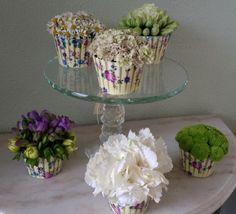 cupcake flower arrangement - Google Search