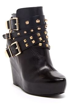 BCBGeneration Aspen Ankle Wedge Bootie