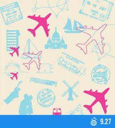 World Tourism Day - International Days - Global Issues International Days, Tourism Day, Bahamas, Adventure Travel, Planes, Maps, September, Photoshop, Design Inspiration