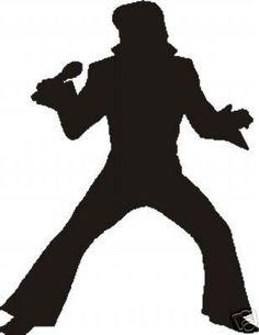Fan Art of Silhouette for fans of Elvis Presley.