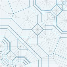 Origami crease patterns: Silverfish - opus 449 - Robert J Lang
