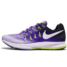 NIKE Women's Wmns Air Zoom Pegasus 33, Hyper Grape/White-Hydrangeas, 6.5 US