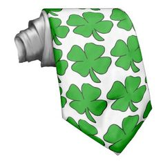 Your lucky charm, St. Patrick necktie