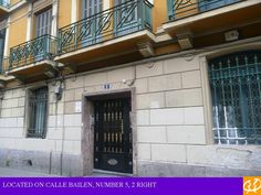 You can find us behind the station on calle bailen, number 5