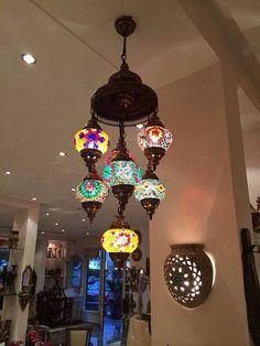 9 Large ball Arabian Mosaic Lamps, Moroccan Lantern, Chandelier,Turkish Light, Hanging Lamp, Mosaic lighting,
