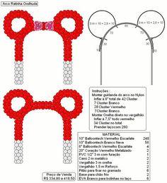 Make a Mouse ear balloon arch Minnie Mouse Balloons, Minnie Mouse Baby Shower, Mickey Mouse Parties, Mickey Party, Theme Mickey, Mickey Mouse Birthday, Balloon Columns, Balloon Arch, Sculpture Ballon