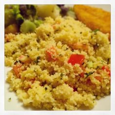 Tomato Couscous - a simple, yet flavorful side dish.