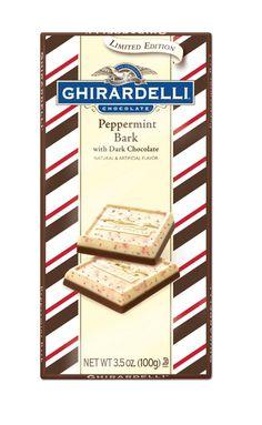 ghirardelli Limited Edition Dark Peppermint Bark Bar