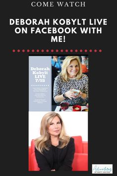 Tune in to Deborah Kobylt LIVE on Facebook to See Me Tomorrow! Fox 11 News, Great Life, Amazing Adventures, Helping Others, Empty, Knowing You, Interview, Facebook, Live
