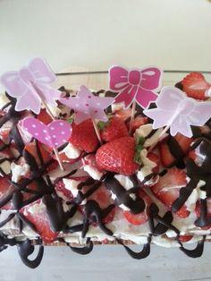 Recette du mille feuille aux fraises.