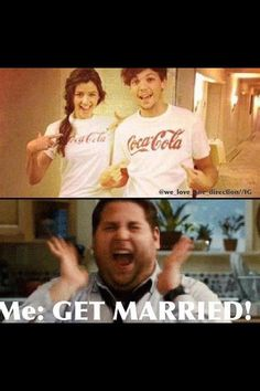 Eleanor and Louis are such a cute couple!