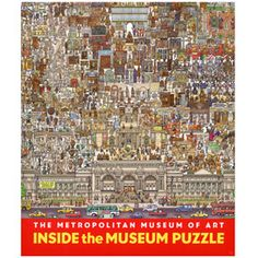 Inside the Museum Puzzle, 500 Small Pieces - Games & Puzzles - MetKids - The Met Store