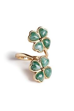 Clover Wrap Ring - Accessories - Lucky Brand Jeans
