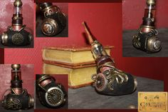 electronic cigarette steampunk vape e-pipe by Cirdann72.deviantart.com on @DeviantArt