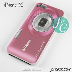 nikon pink coolpix Phone case for iPhone 4/4s/5/5c/5s/6/6 plus